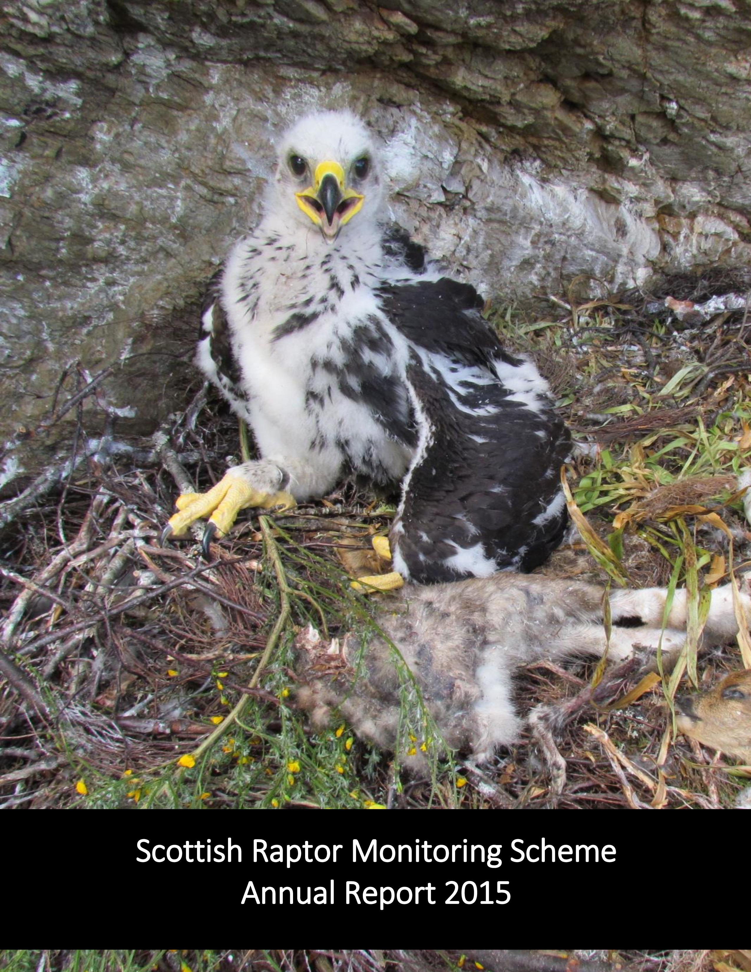Challis, A., Wilson, M.W., Holling, M., Roos, S., Stevenson, A. & Stirling-Aird, P. (2016). Scottish Raptor Monitoring Scheme Report 2015. BTO Scotland, Stirling.